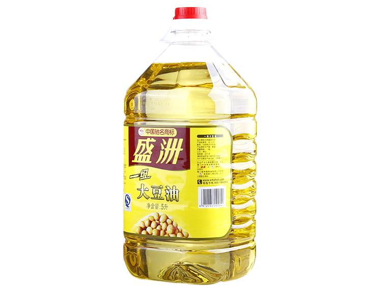 盛洲大豆油5l