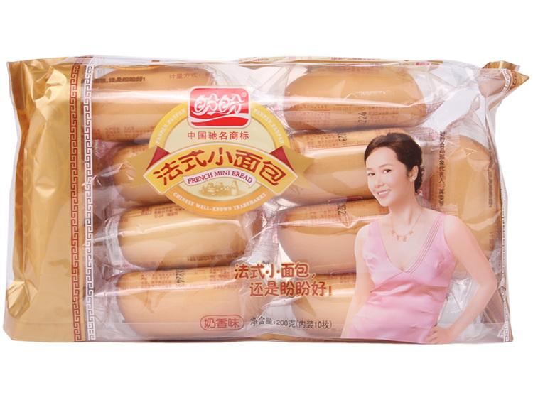 """""""盼盼"""" 法式小面包 奶香味 200g图片"""