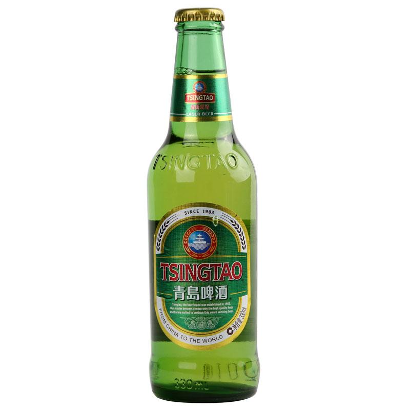 """""""青岛""""啤酒-小优330ml/瓶"""