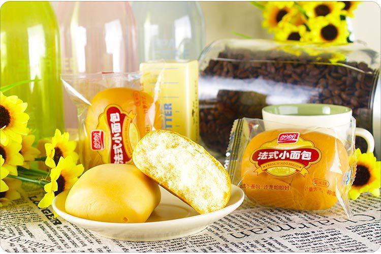 """""""盼盼""""玉米法式小面包440g图片"""
