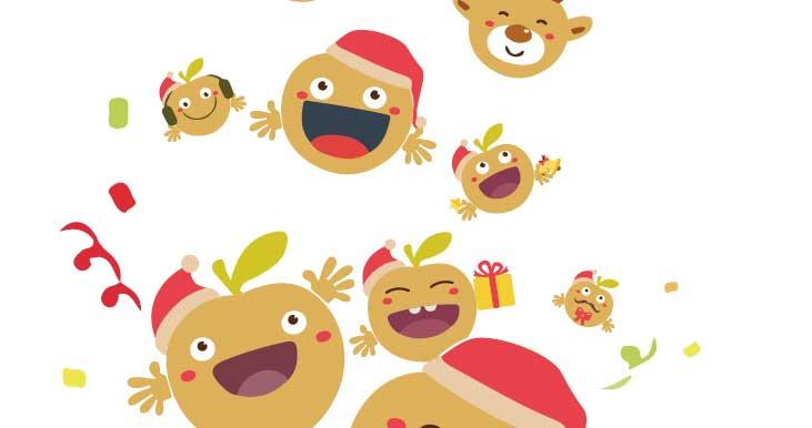 中华城圣诞节 100只苹果精灵欢乐现身