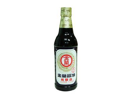 金兰纯酿造酱油590ml