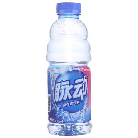 """""""乐百氏""""脉动饮料 蜜桃味600ml"""