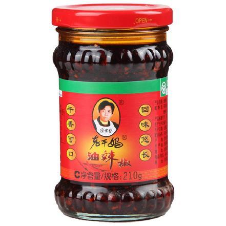 """""""老干妈""""油辣椒210g(买贵补差)"""