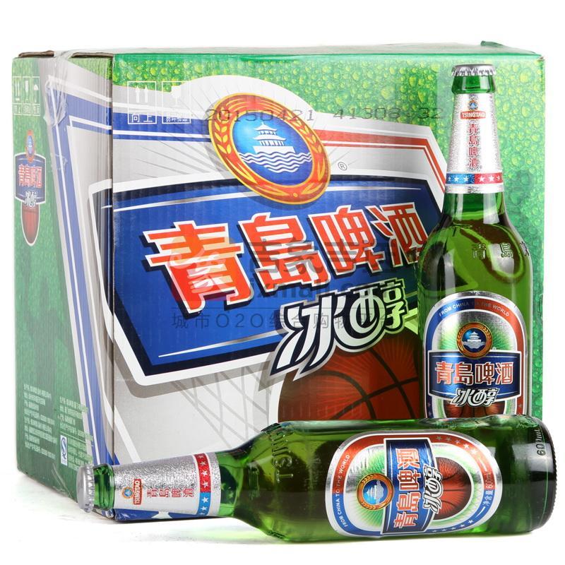青岛啤酒-冰醇8度600ml*12瓶