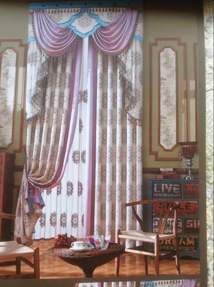 欧式复古窗帘 - 金牌布艺