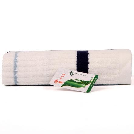 """""""中国结""""P8491竹纤维彩条面巾 规格:33*72cm"""