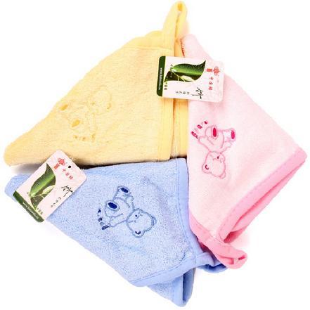 """""""中国结""""A-021竹纤维婴儿卡通巾 规格:30*30cm"""