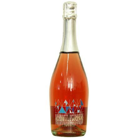 歌诗达低醇甜桃红起泡葡萄酒750ml