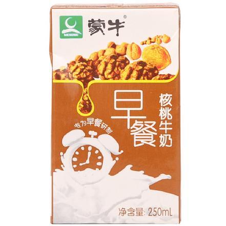 """""""蒙牛""""早餐奶核桃味利乐包250ml"""