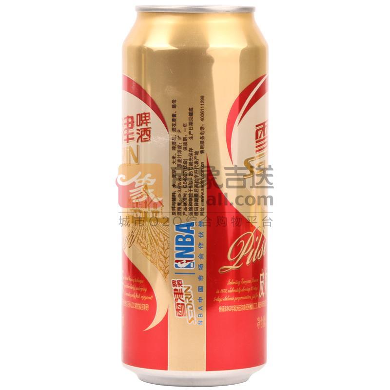 """""""雪津""""啤酒皮尔森500ml/罐"""
