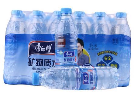 """""""康师傅""""矿物质水550ml*24瓶"""