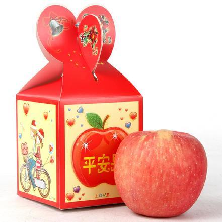 圣诞平安果1枚礼盒装  85#-90#果