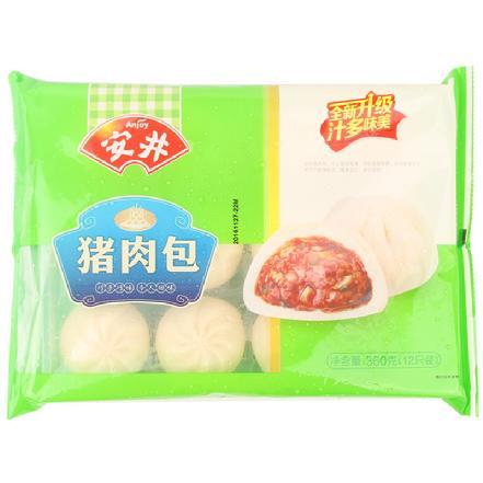 """""""安井""""猪肉包360g/包  12个/包"""
