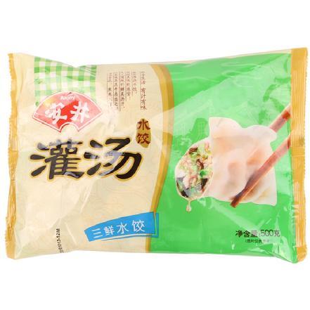 """""""安井""""灌汤水饺(香、芹、三、菜、韭、猪、芥)口味随机发货"""