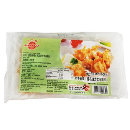 """【进口】马来西亚""""EVERBEST牌""""素香酥鸡200g,纯素食,很健康"""