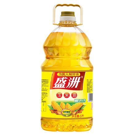 """""""盛洲""""非转基因玉米油4L"""