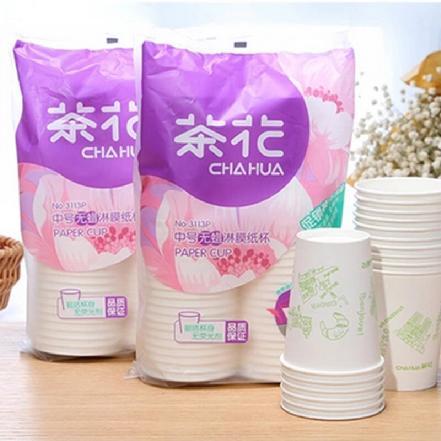 """""""茶花""""中号淋膜纸杯(促销装1*40)"""